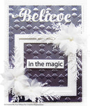 Diamond Droplets 5 3/4 x 7 1/2 3D Embossing Folder