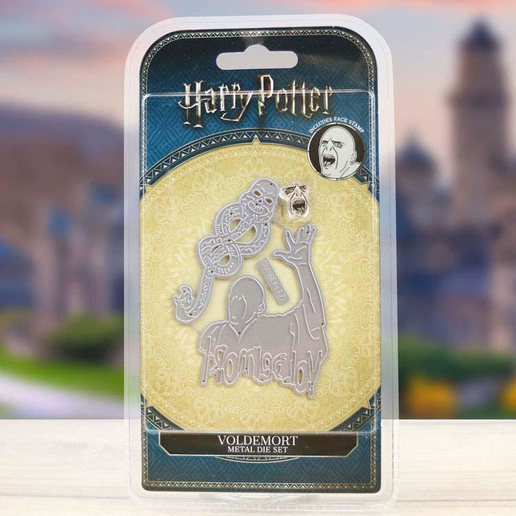 Harry Potter Voldemort Die and Face Stamp