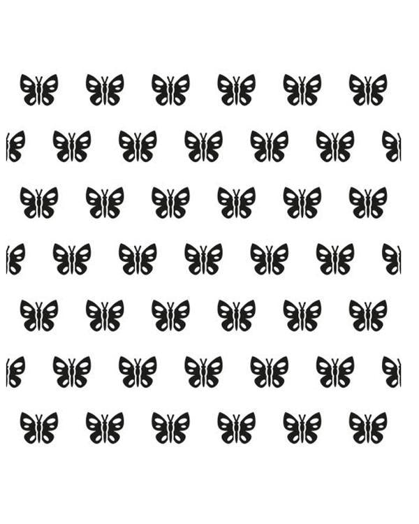 Background Embossing Folder - Spring Butterfly