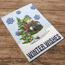 Hearty Crafts 3D Relief Stickers - Snowman A4