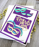 Frantic Stamper Precision Die - Mardi Gras Celebration