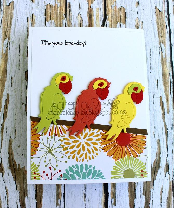 Frantic Stamper Precision Die - Feathered Friends