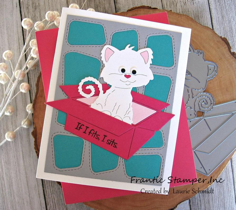 Frantic Stamper Precision Die - Wacky Windows Card Panel