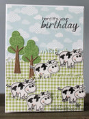 Frantic Stamper Precision Die - Party Animals