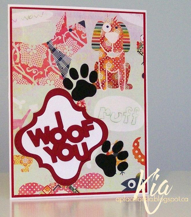 Frantic Stamper Precision Die - Dog Paw Print Set