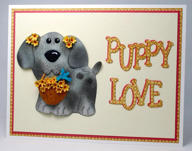 Frantic Stamper Precision Die - Rover Puppy Love