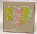 Frantic Stamper Precision Die - Heart Rose