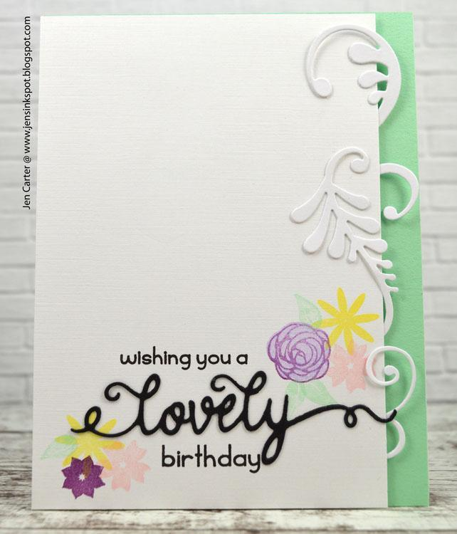 Frantic Stamper Precision Die - Lovely & Gorgeous