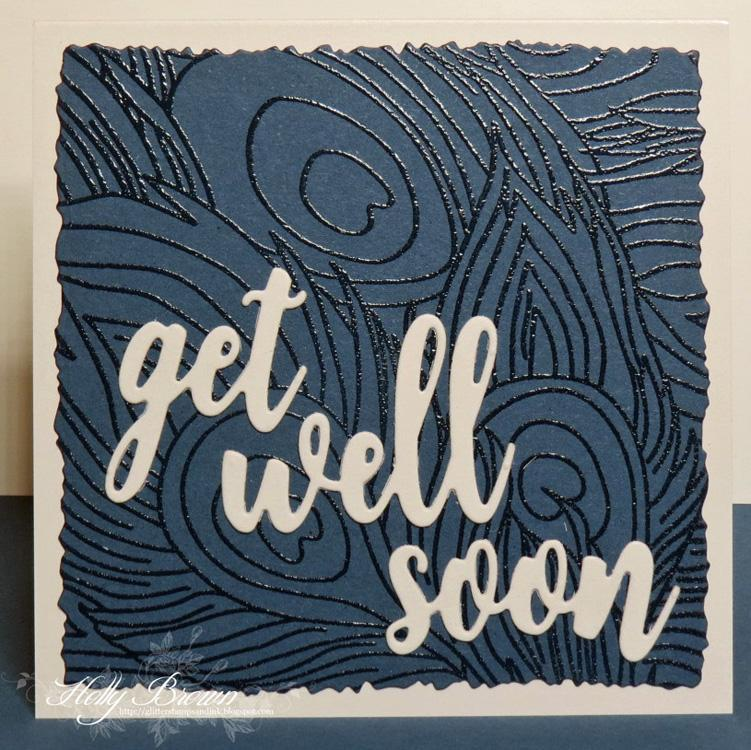 Frantic Stamper Precision Die - Get Well Soon