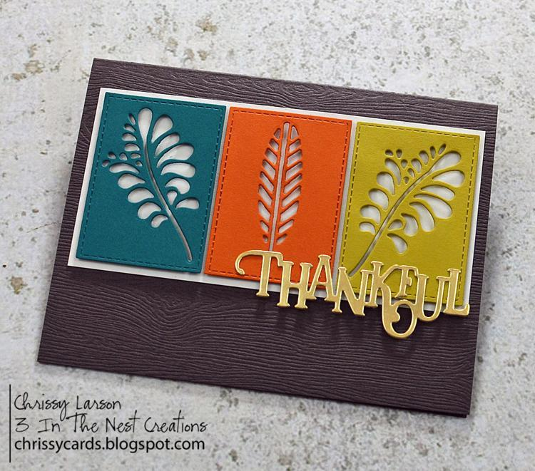 Frantic Stamper Precision Die - Elegant Thankful
