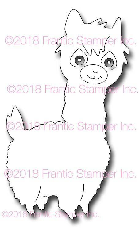 Frantic Stamper Precision Die - Lorenzo the Llama