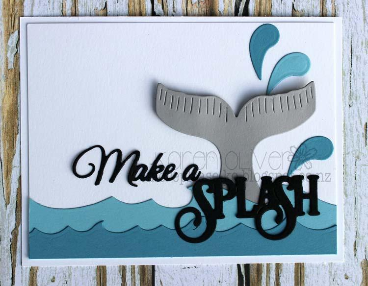 Frantic Stamper Precision Die - Make A Splash
