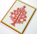Frantic Stamper Precision Die - Folk Art Christmas Tree