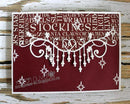Frantic Stamper Precision Die - Christmas Border Flourish
