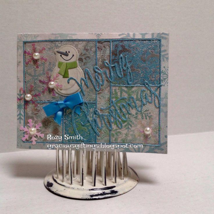 Frantic Stamper Precision Die - Color Block Card Panel