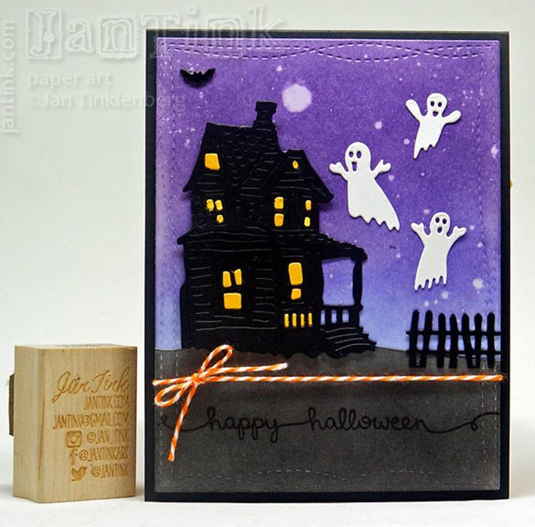 Frantic Stamper Precision Die - Spooky Accessories