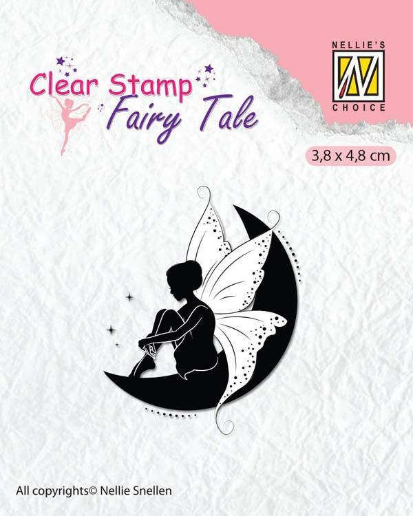 Nellie's Choice Clear Stamp Fairy Tale - 10