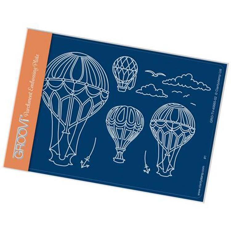 Groovi Template - Ballooning A6