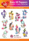 Hearty Crafts Easy 3D Toppers - Easter Egg Cups