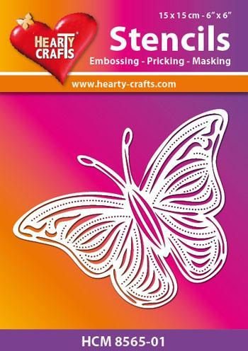 Hearty Crafts Butterfly Stencil 7 x 5