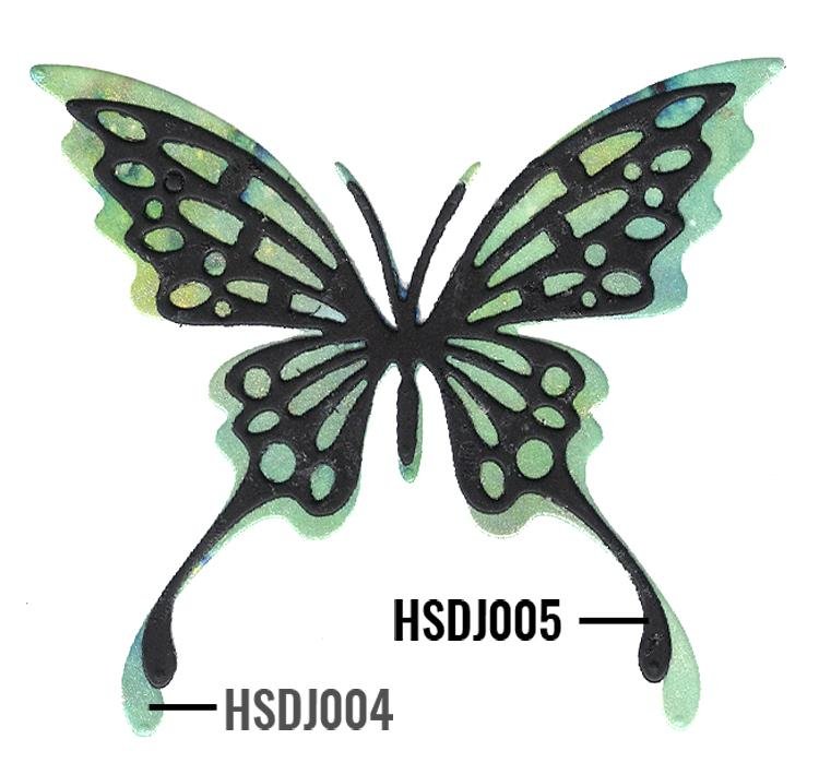 "Nellie's Choice - Hobby Solutions Die Cut ""Butterfly-1"""