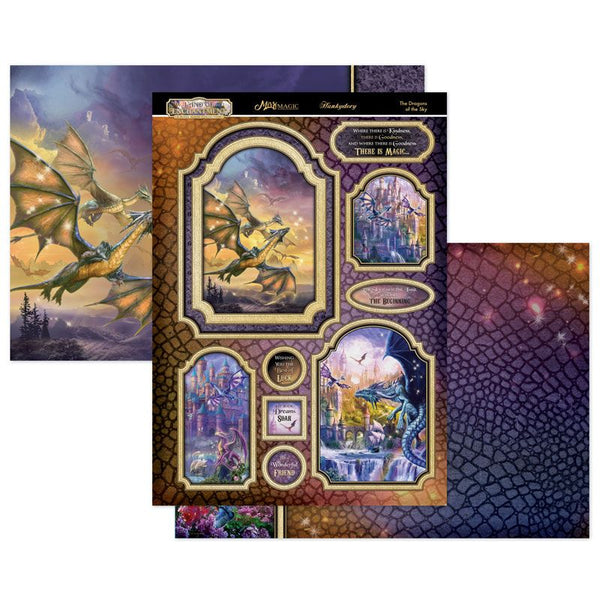 The Dragons of the Sky Mirri Magic Topper Set