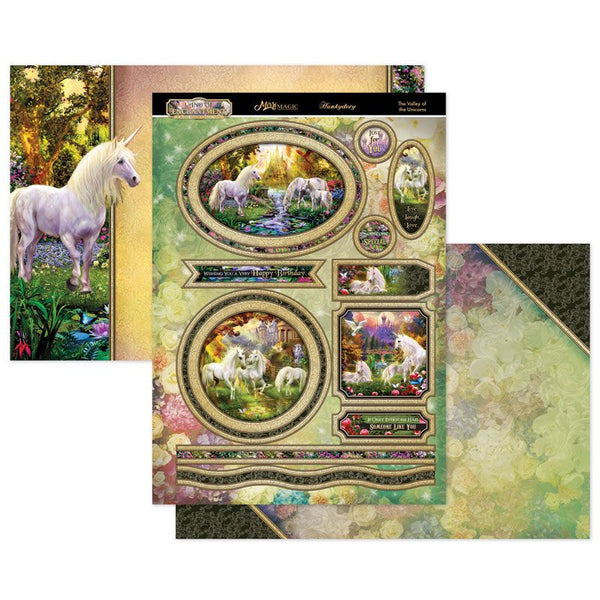 The Valley of the Unicorns Mirri Magic Topper Set