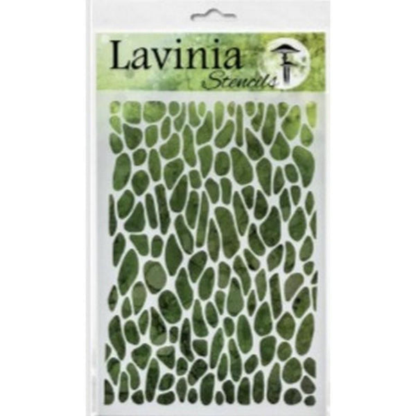 Lavinia Stencil - Crackle