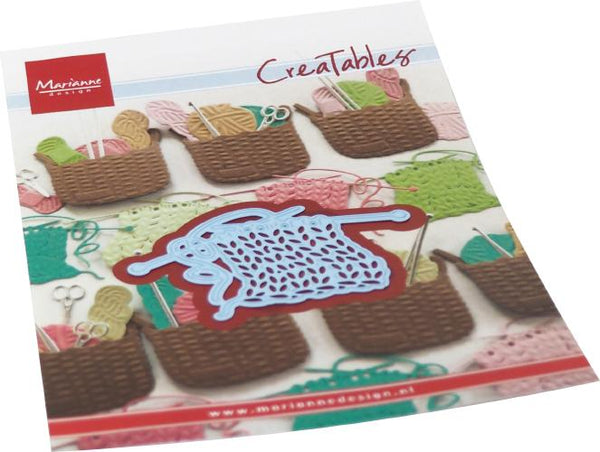 Creatables Knitwork Die