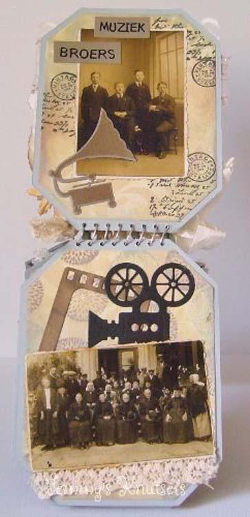 Nellie's Choice - Multi Frame Dies Booklet Rectangle
