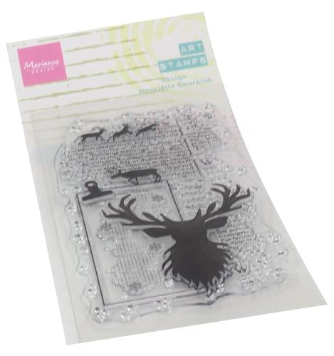 Clear Stamps Art stamps - Deer