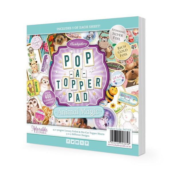 Pop-a-Topper Pad - Animal Magic
