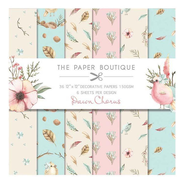 The Paper Boutique Dawn Chorus 12x12 Paper Pad 160gsm