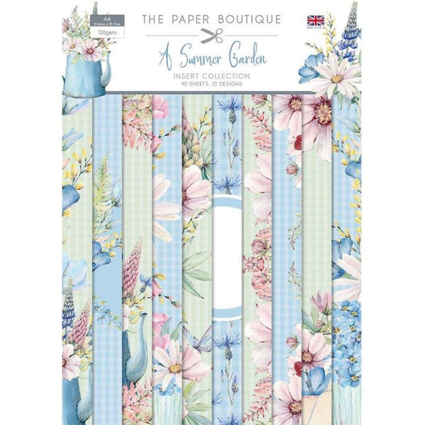 The Paper Boutique A Summer Garden Insert Collection