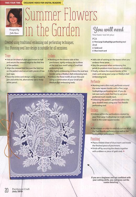 Parchment Craft Magazine - July 2019