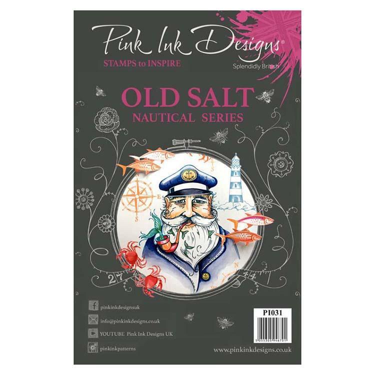 Pink Ink Designs A5 Clear Stamp Old Salt