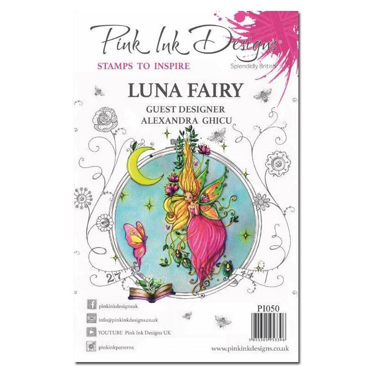 Pink Ink Designs Clear Stamp Luna Fairy