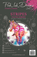 Pink Ink Designs Stripes A5 Clear Stamp