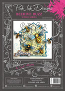 Pink Ink Designs a Cut Above Beehive Buzz Stamp & Die Set