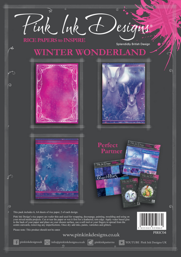 Winter Wonderland A4 Rice Paper