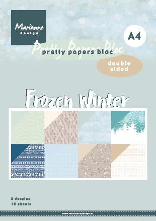 A4 Pretty Paper Bloc Frozen Winter
