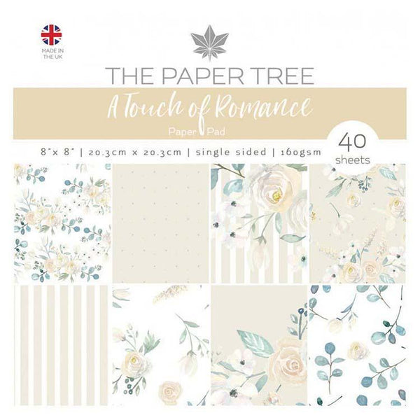 The Paper Tree A Touch of Romance 8x8 Paper Pad