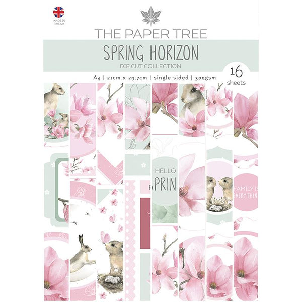 The Paper Tree Spring Horizon A4 Die Cut sheets