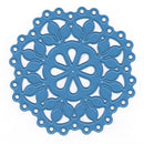 Nellie's Choice - Shape Die Blue Mandala