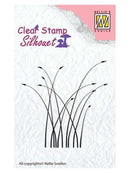 Nellie's Choice - Clear Stamp Silhouette Blooming Grass