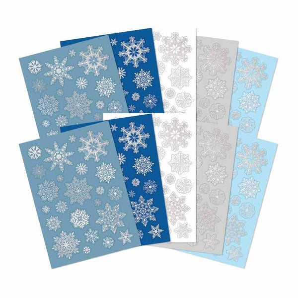 Let it Snow Snowflake Die-Cuts