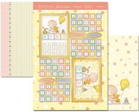 Special Occasions Individual Topper-Baby Blocks