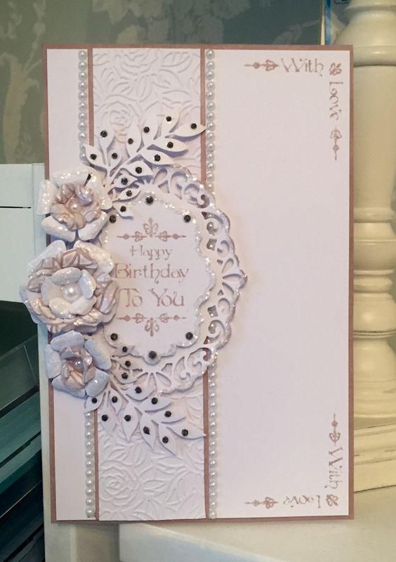 Baroque Everday Corner Sentiments -A5 Clear Stamp Set