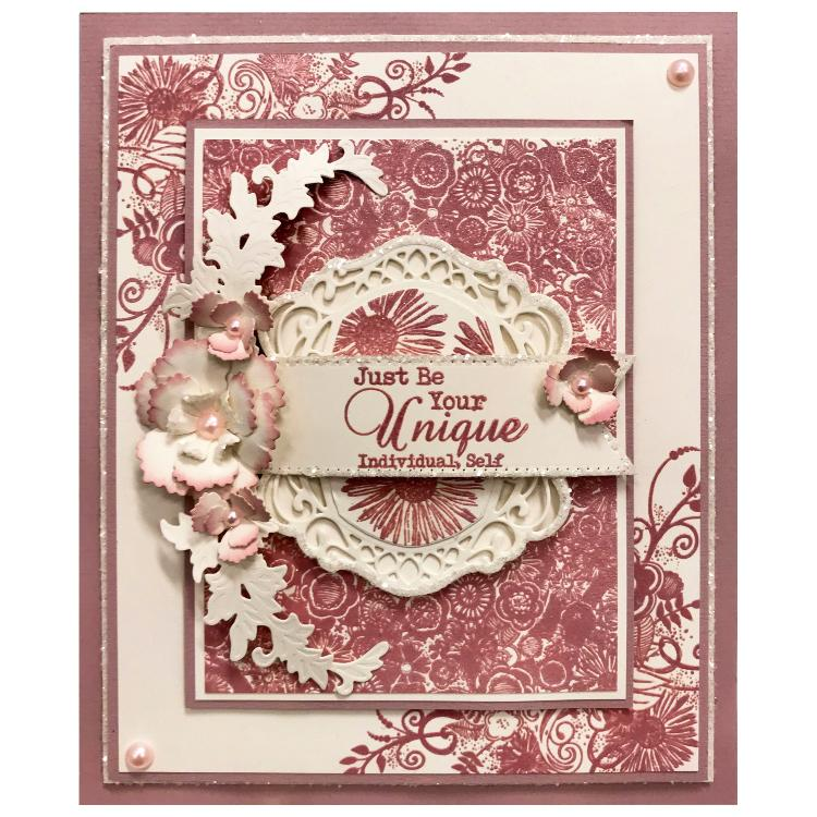 Sentimentally Yours Bohemian Sentiments DL Clear Stamp