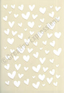 Creative Expressions Stencils Collection - Doodle Hearts